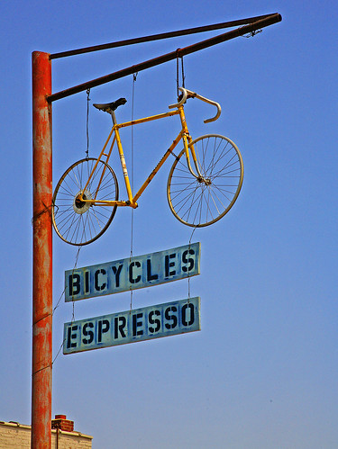 Bicycles Expresso | by FotoEdge