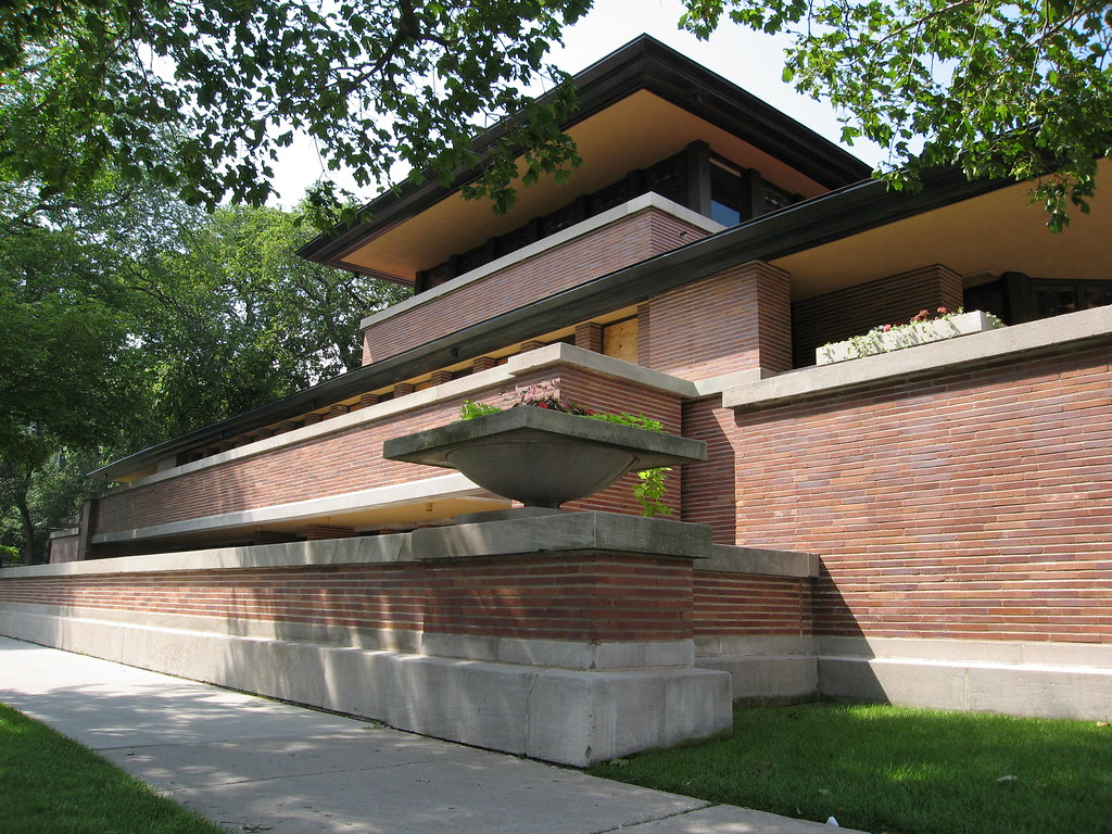 robie house designed by frank lloyd wright 1909 the robie u2026 flickr