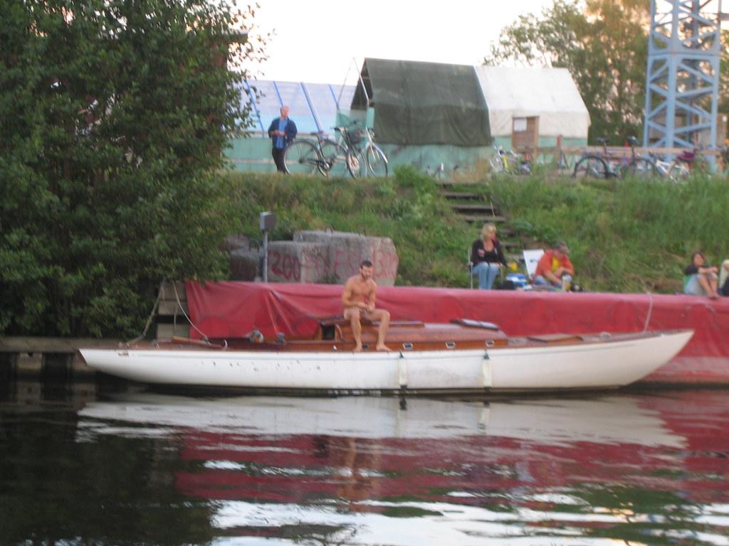 Naked man on a sailing boat   Jimmy Flink   Flickr