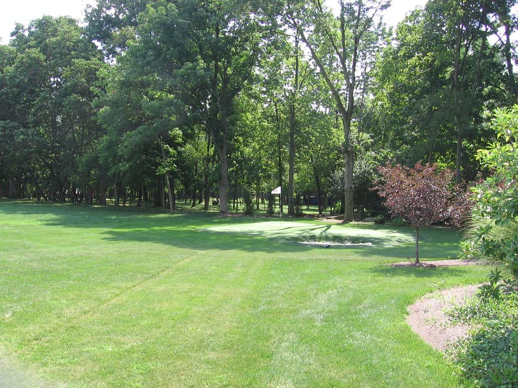 ... Backyard Golf Hole | by John Beagle - Backyard Golf Hole John Beagle Flickr