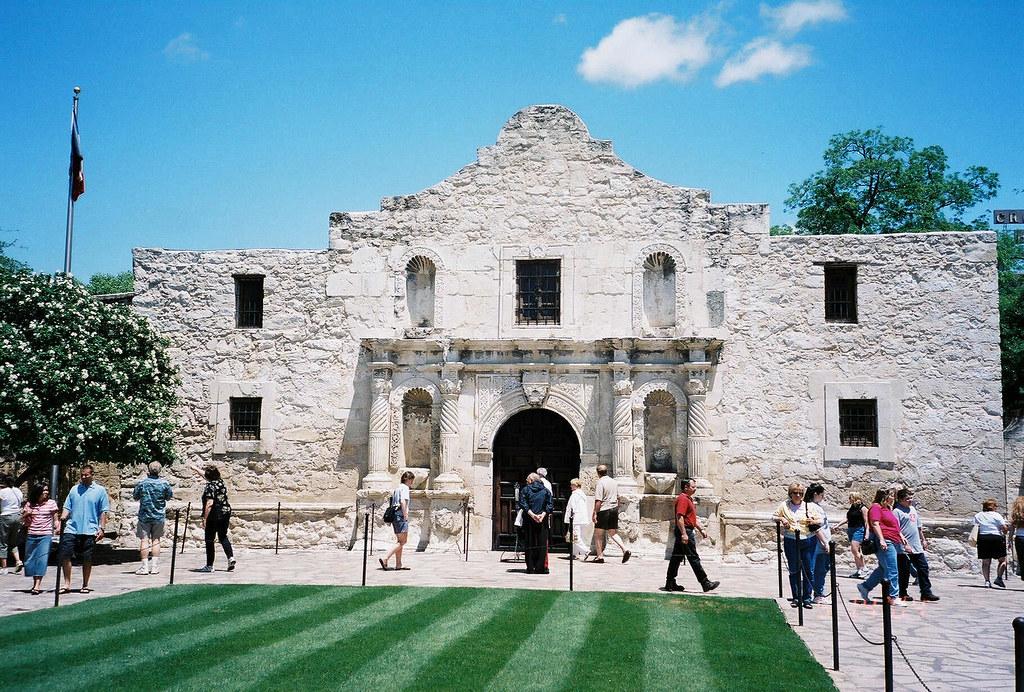 Mission San Antonio De Valero The Alamo 1718 169 2006