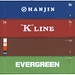 Shipping Containers - Hanjin, K Line, ICS, Evergreen