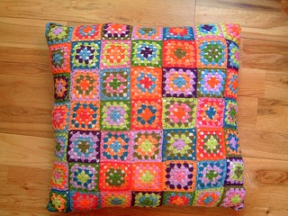 Granny Square Pillow | by eclectic gipsyland