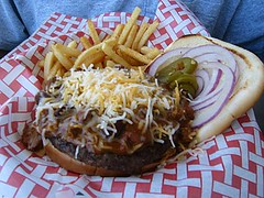 chili cheese burger, Turtle Bay Cafe | by bubbletea1
