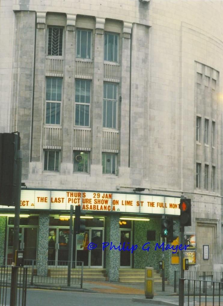 Forum/ABC cinema, Lime Street, Liverpool. 29 January 1998 ...