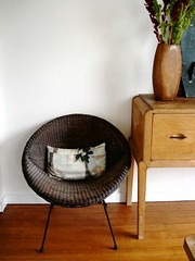 mid century modern chair | by sfgirlbybay