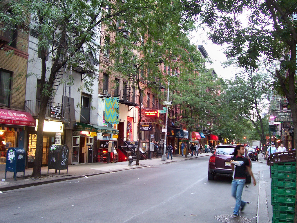 Greenwich Village Bares y Restaurantes