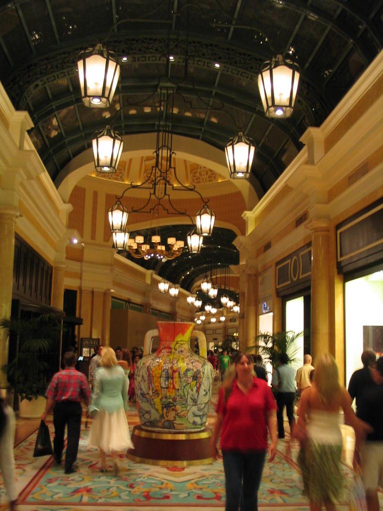 Upscale Shops And Restaurants Bellagio Las Vegas Nevada Flickr
