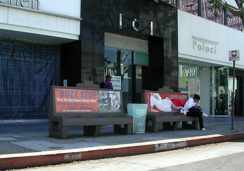 Bus Benches on Robertson Ave. | by Coffee on Sundays