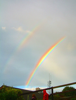 double and supernumerary rainbows | by silyld