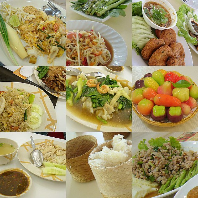 Thai food real thai food in thailand mmm top left for 3d cuisine bessines 79