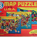 Built-Rite Map Puzzles of the USA Box