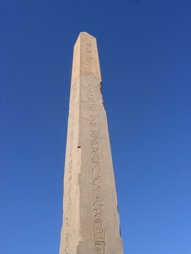 Obelisk at Luxor Temple Egypt | by Partjob
