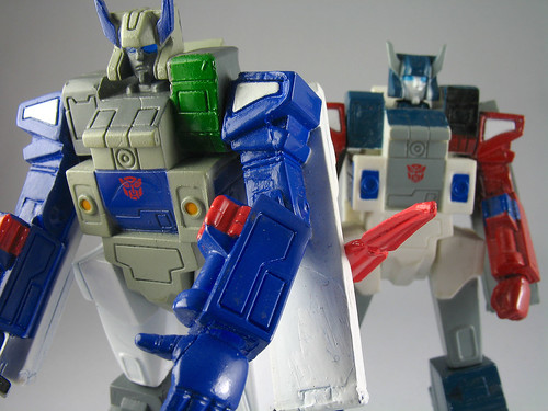 TF Headmasters - Brothers Fortress Maximus and Grand Maximus | by naladahc