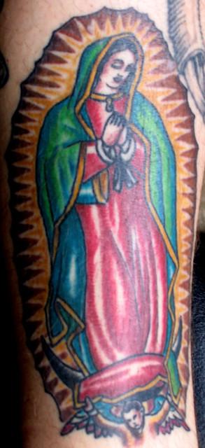 La virgen de guadalupe by cameron sweet electric for Virgen de guadalupe tattoo