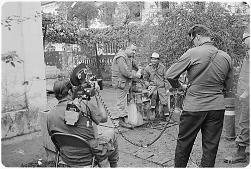 Public Domain Walter Cronkite In Vietnam With Cbs News F