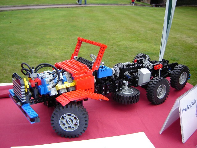 Shrewsbury Lego Fest 2005 8889 Technic Lego Truck Flickr