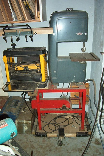 Delta Tool Box >> Band Saw and Planer | My 1950's Craftsman band saw -Back ...
