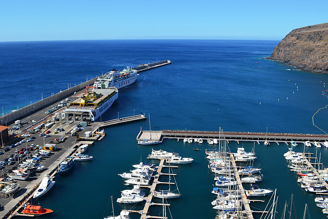San Sebastian port, La Gomera