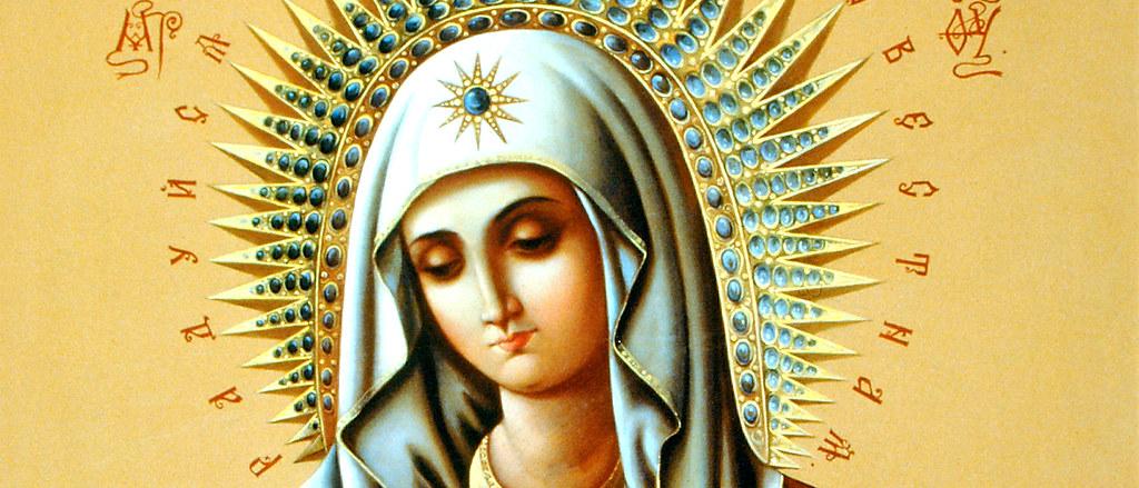 Икона Божией Матери УМИЛЕНИЕ ДИВЕЕВСКАЯ