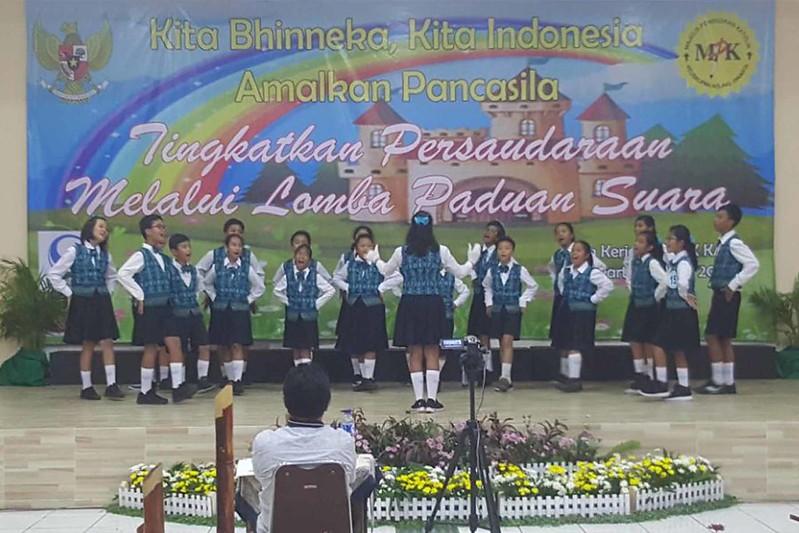 Juara 3 Paduan Suara Jenjang Sekolah Dasar