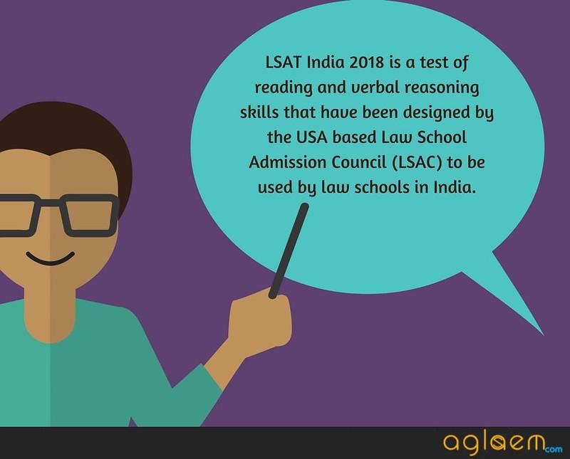 LSAT India 2018