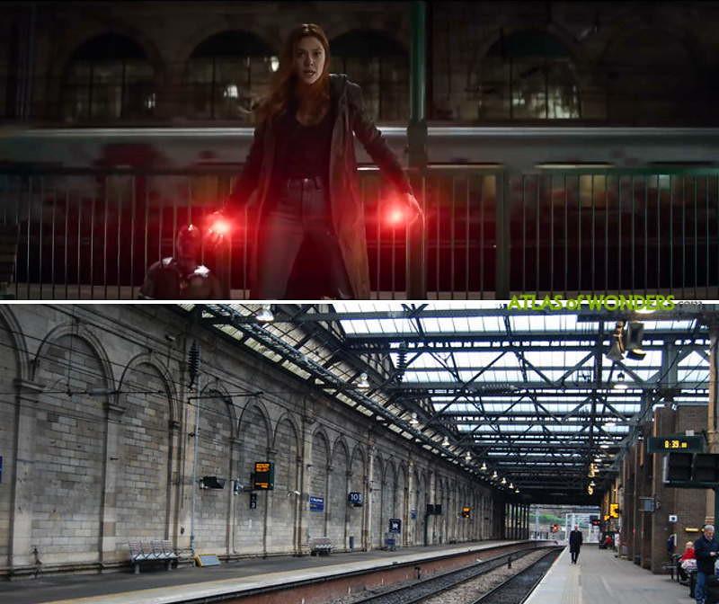 Where was Avengers filmed
