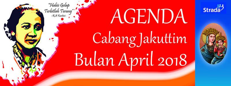 Agenda Kegiatan Kantor Strada Cabang Jakuttim Bulan April 2018