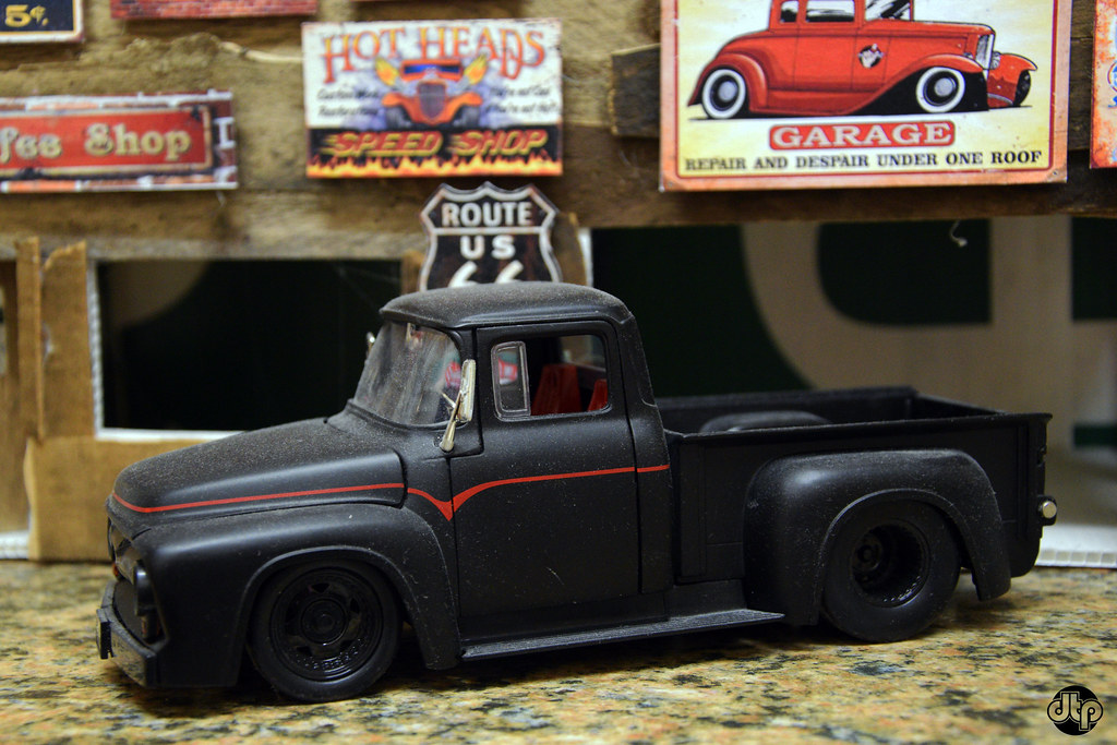 Ford Custom 2018 >> 1956 Ford F100 Pickup Truck | Custom diecast hot rods | Flickr