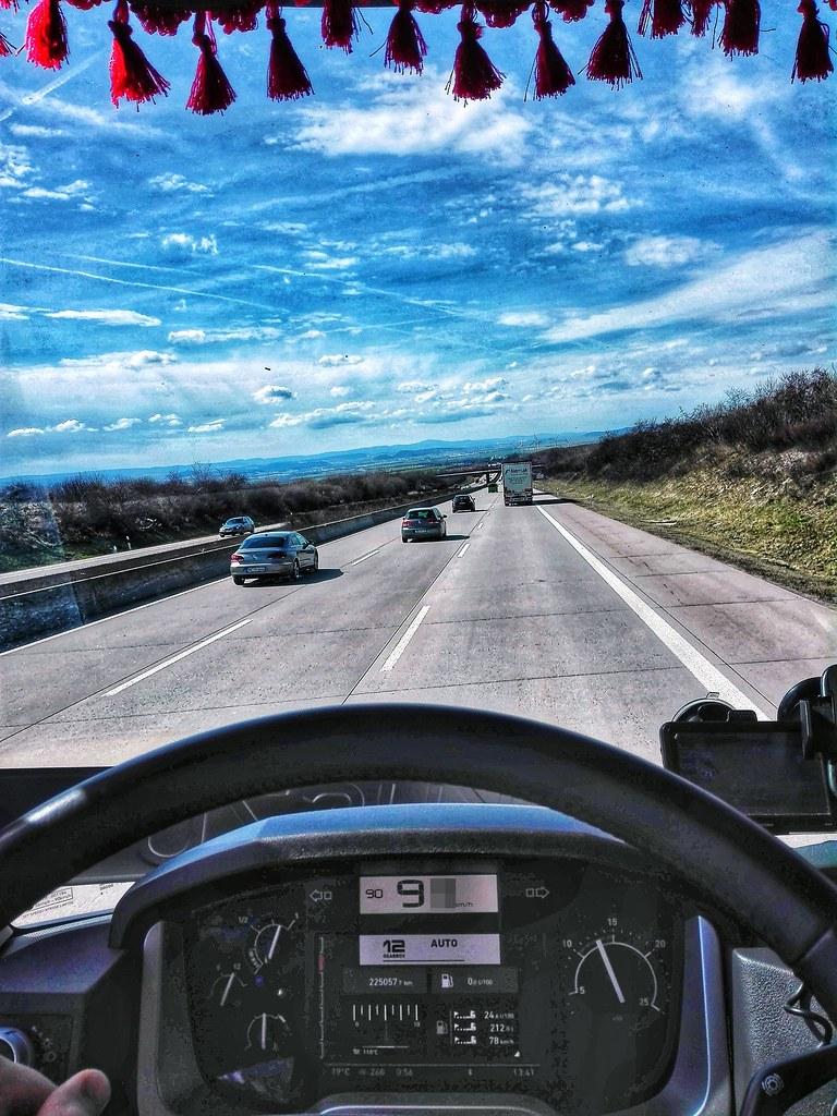 Renault Range T interior / Driving   Heywoodek   Flickr