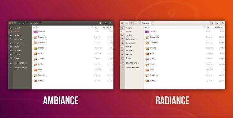 ubuntu-1804-ambiance-theme-nautilus