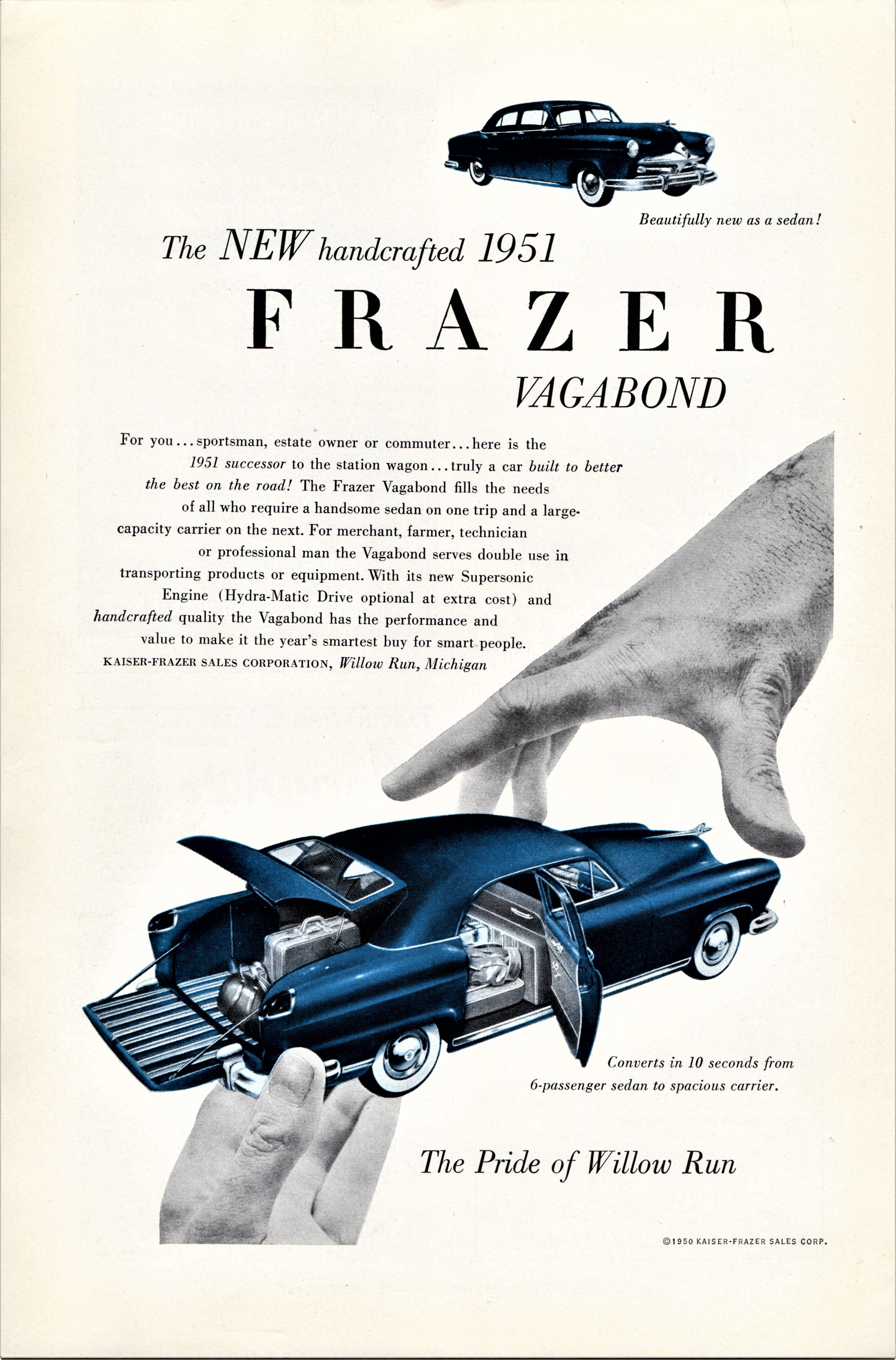 1951 Frazer Vagabond