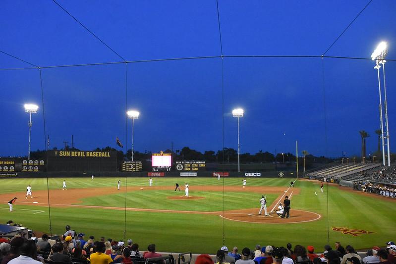 亞利桑那州大球場。(作者提供)