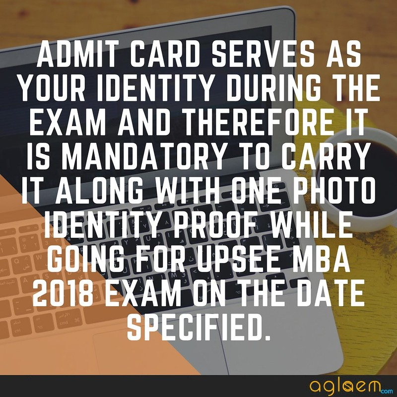 UPSEE MBA 2018 Admit Card / Hall Ticket - To be released by AKTU on 20 April  %Post Title, %Post Category, AglaSem