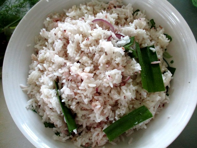 Rice for steaming