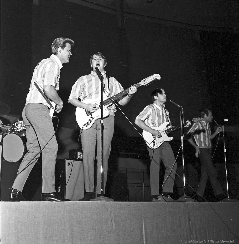 Les Beach Boys en concert à l'aréna Maurice-Richard. 19 fé ...