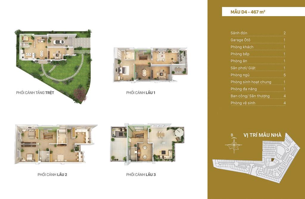 mẫu thiết kế D4 Villa Park