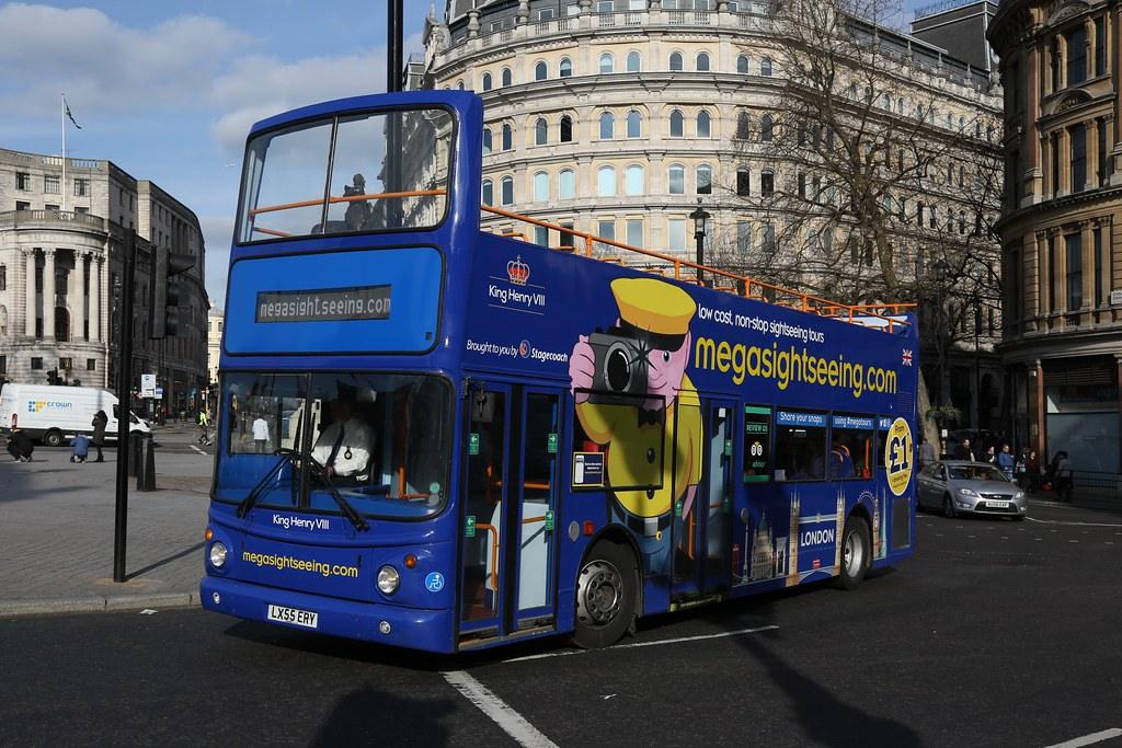 ... Stagecoach 18475 LX55ERY at Trafalgar Square | by driffbus