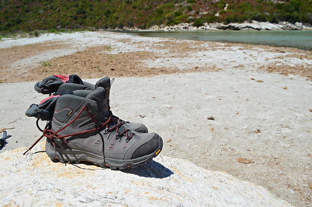New boots in Corsica