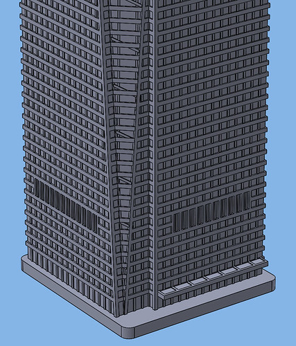 1:2000 Eton Place Tower 01 Base | by Doctor Octoroc