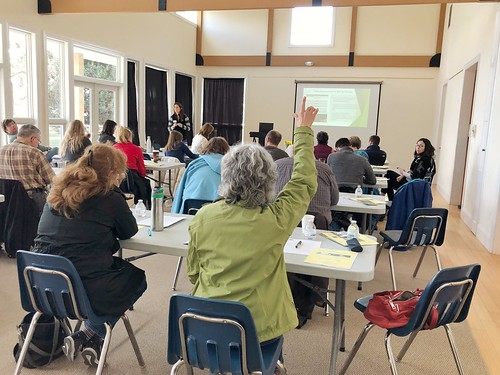 Photo of conservation volunteer training with Maryland Environmental Trust