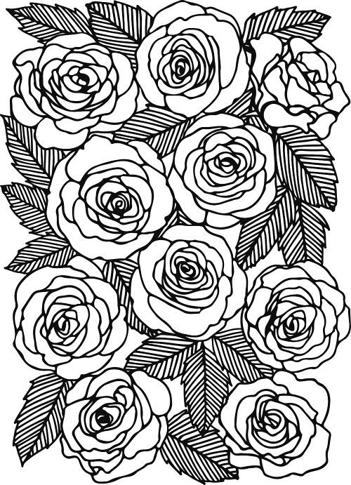 Bloom More Than 40 Decorative Papercut Patterns Rose Te Flickr Beauteous Papercut Patterns
