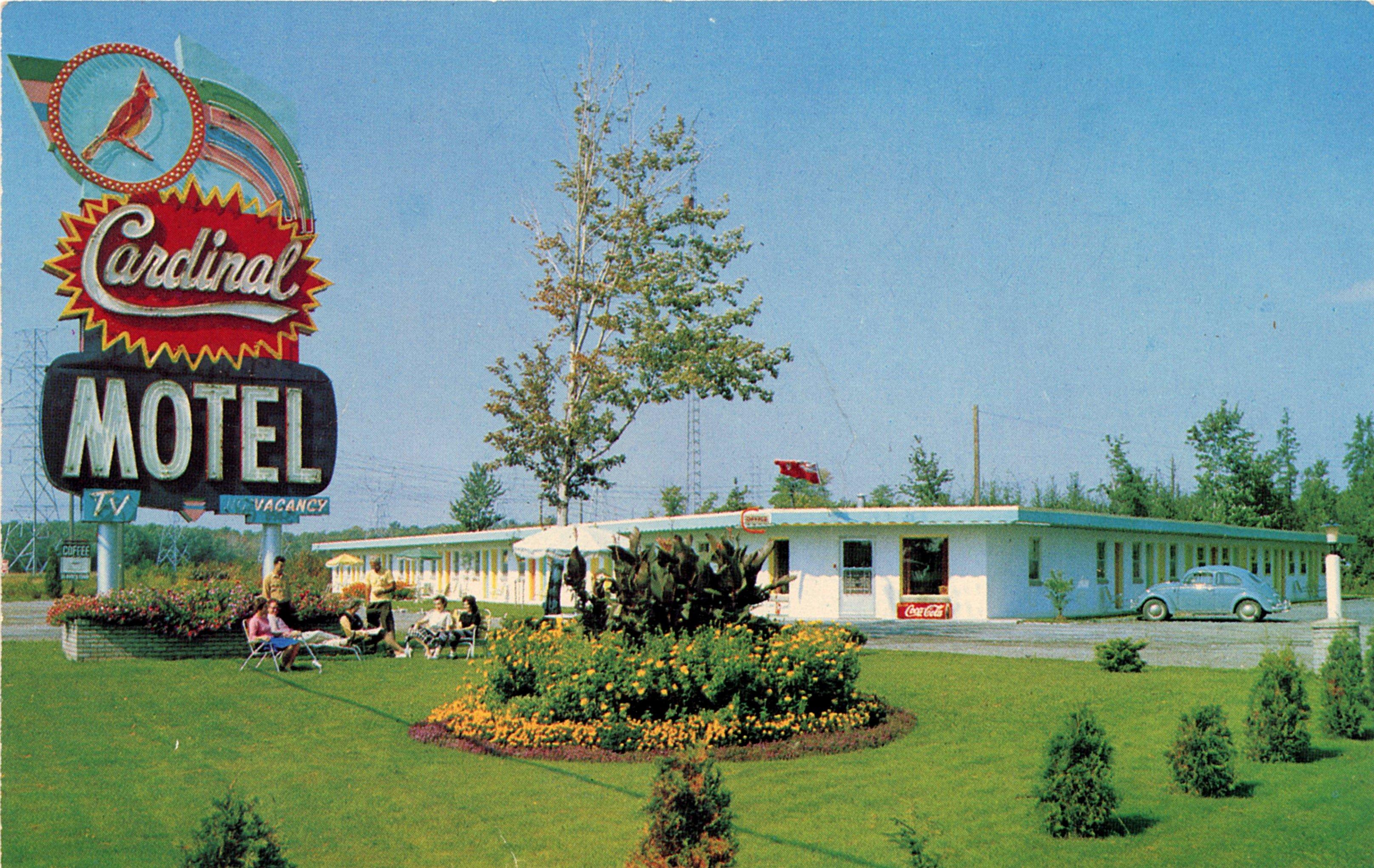 Cardinal Motel - Cornwall, Ontario, Canada - 1960's