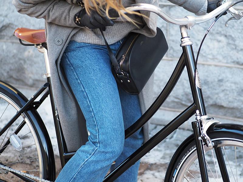 Pelago polkupyörä musta Brooklyn