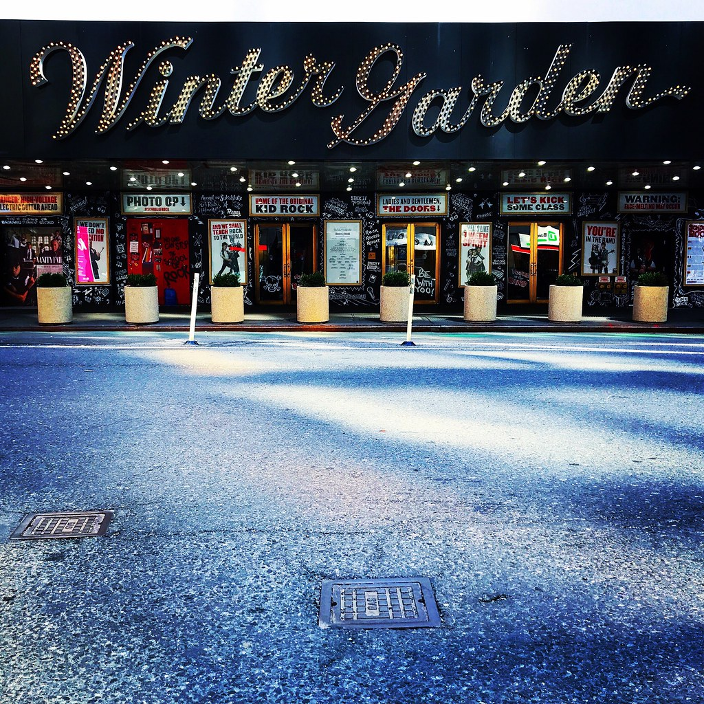 winter garden theater nyc by christian montone - Winter Garden Theater Nyc