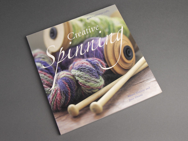 Pre-owned book: Creative Spinning by Alison Daykin and Jane Deane