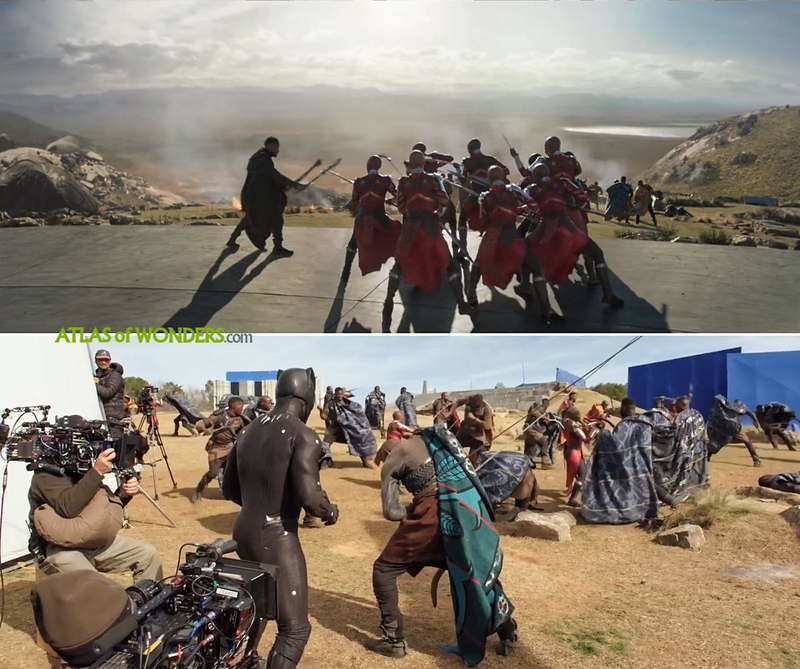 Was Black Panther filmed in Africa