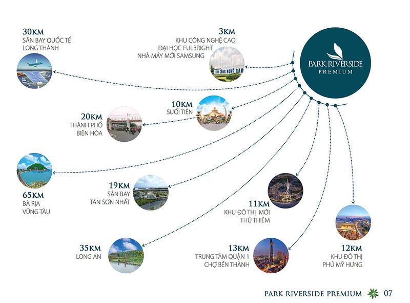 Park Riverside Premium Liên kết vùng