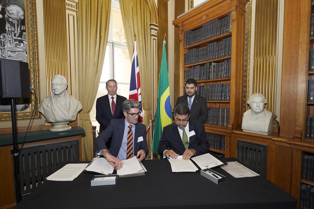 ... UK Brazil JETCO 2018 At The Royal Society, London   By UK In Brazil