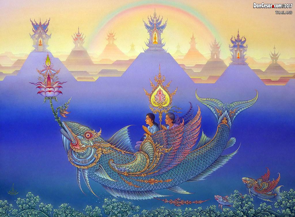 "Chalermchai Kositpipat paying respect to lord buddha"" 1991, chalermchai kositpip… | flickr"